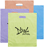 Rose Frosted Bright Die Cut Bags